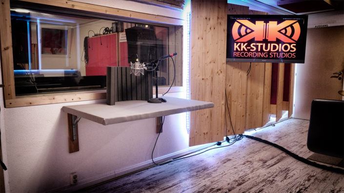 Neumann Microphone Acoustic Synchro Recordingtable