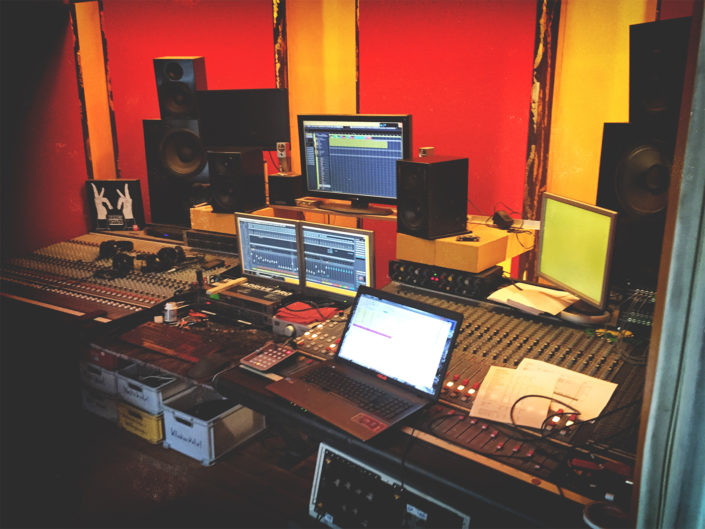 Regieraum Studio Kraftclub