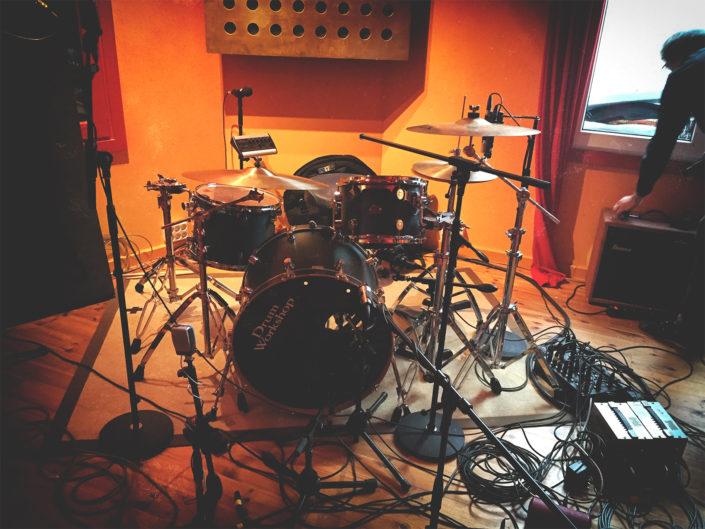 Aufnahmeraum Recordingroom Studio Kraftclub Selig