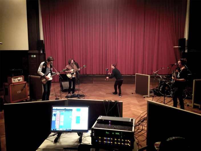 Live Recording Hansa Studios, KK-Studios, Audient,