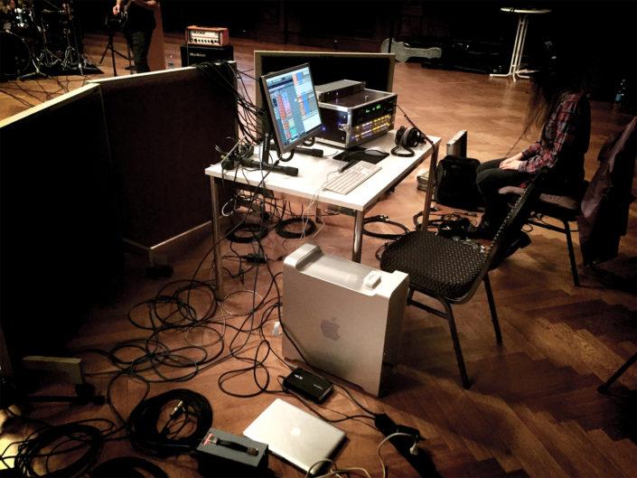 Recording Hansa Studios KK-Studios MeistersaalRecording