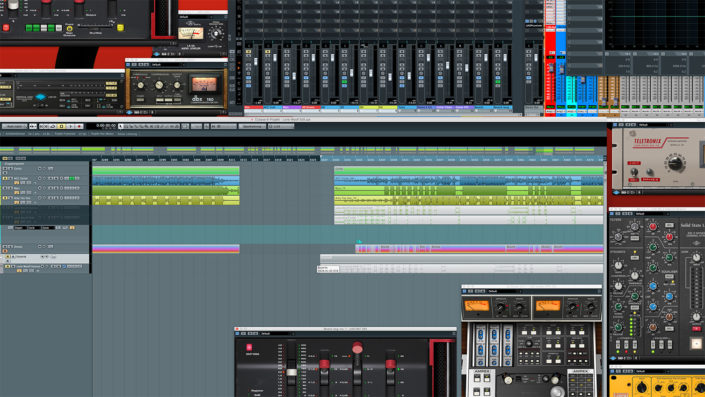 Screenshot 4k Workstation Universal Audio